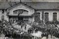 01 Inauguration du nouvel hotel de ville  8 juillet 1906 arrivée du ministre 2