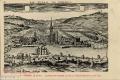01 La ville de Corbeil, gravée par Claude Chastillon, 1610-1640