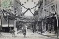 04 Inauguration du nouvel hotel de ville  8 juillet 1906 décoration rue Notre Dame