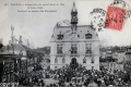 05 Inauguration du nouvel hotel de ville  8 juillet 1906, pendant la remise des décorations