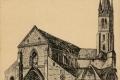 08 Portail et clocher de l'église Notre-Dame, fondée au XIème