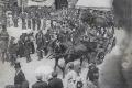 09 Inauguration du nouvel hotel de ville  8 juillet 1906, le ministre se rendant au banquet