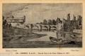 13 Vue du pont et du vieux château en 1655