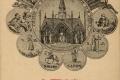 16 Médaillons des images des patrons des differentes paroissesde Corbeil, supprimées en 1791