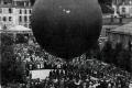 1907 4 Préparatif d'enlèvement du ballon, 13 mars 1907