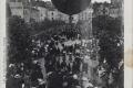 1907 5 Enlèvement du ballon 'la ville de Corbeil' , place du marché 1907