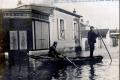 1910 28 janvier Inondations Corbeil - Arrières grands parents Hélène Pavamani red