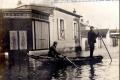1910 28 janvier Inondations Corbeil - Arrières grands parents Hélène Pavamani