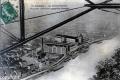 1910c Vue prise à bord d'un aéroplane Champbel