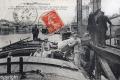 1914 Les grands moulins, déchargeur et chargement de 2800 sacs de 100kg
