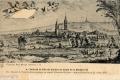 22 Veüe de la ville de Corbeil du costé de la Maladrerie