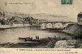 27 Vue prise en aval du pont et Eglise St-Léonard