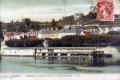 Montagne de Saint-Germain et le bateau-lavoir 1909