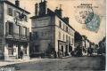 P La mairie et la rue de Paris